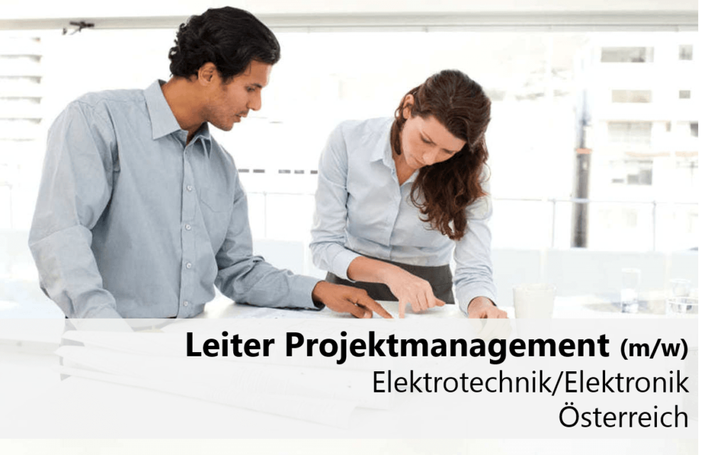 Leiter Projektmanagement