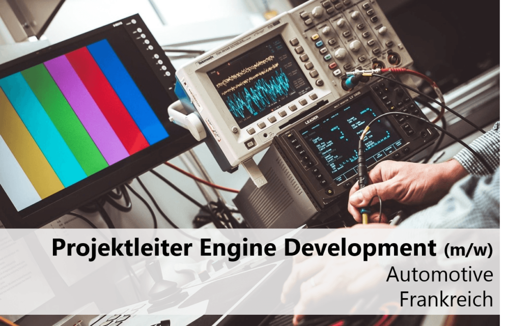 Projektleiter Engine Development
