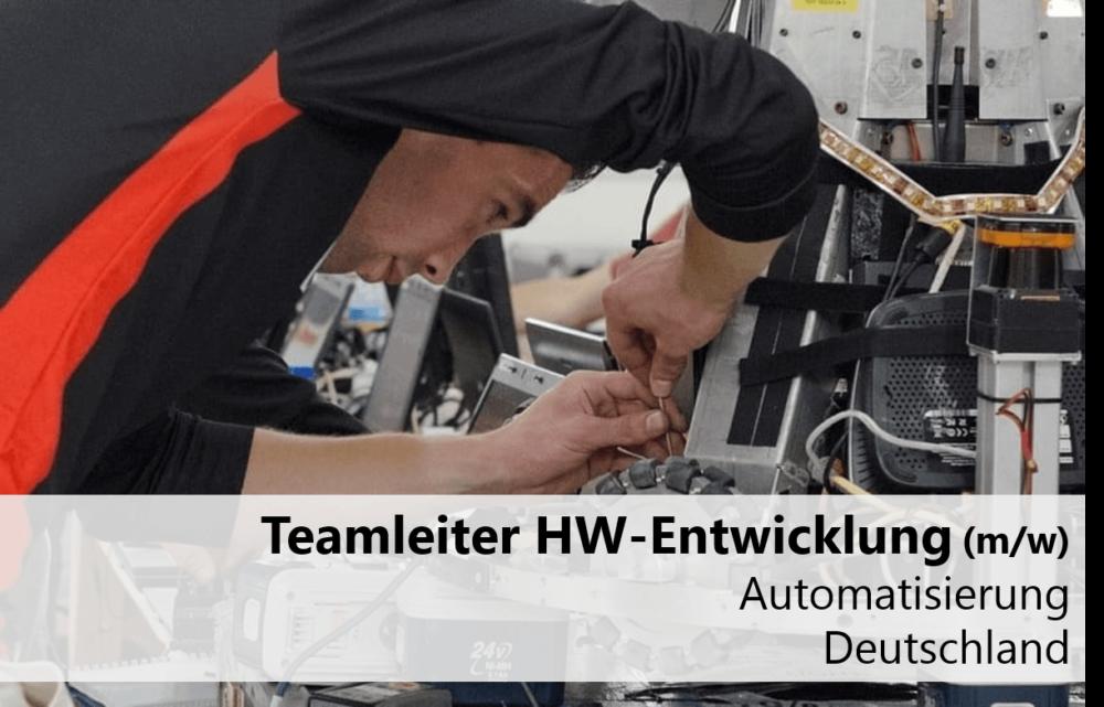 Teamleiter Hardware Entwicklung