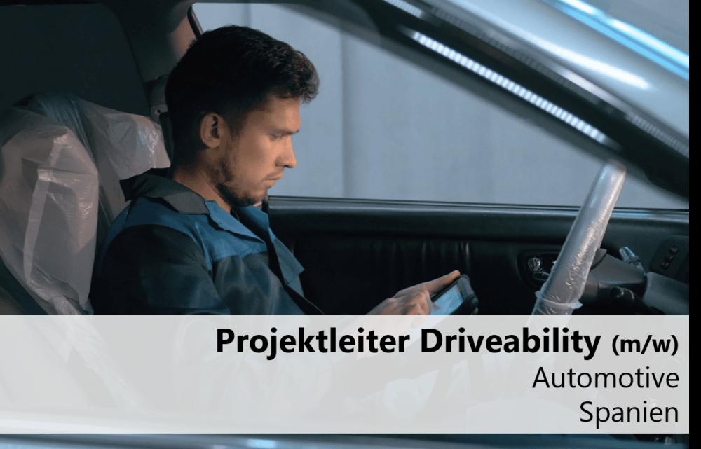Projektleiter-Driveability