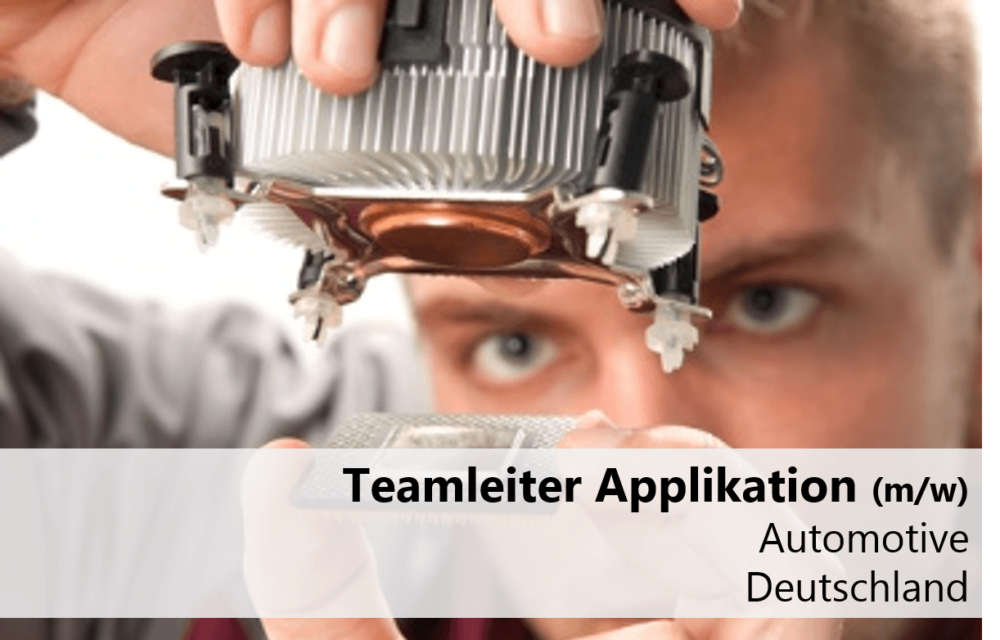 Teamleiter-Applikation